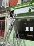 Devis peinture boutique Paris